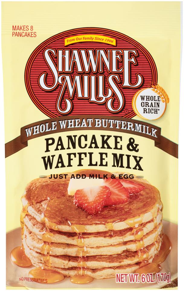Whole Wheat Pancake/Waffle Mix: 24 – 6 oz. packages ...
