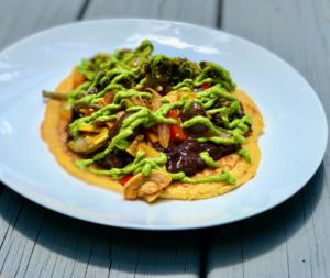 vegetarian cachapas recipe