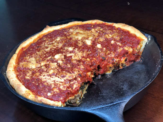 chicago style deep dish pizza recipe